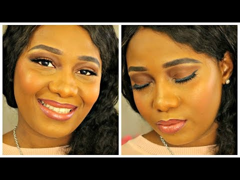 NUDE MAQUILLAGE SIMPLE POUR DEBUTANT❤ thumbnail