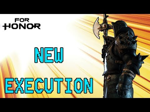 [For Honor] Lawbringer Duels - New Execution