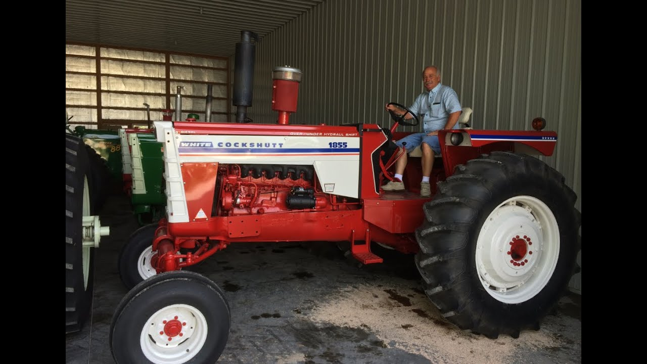 hight resolution of oliver and cockshutt tractor collection in illinois