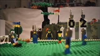 Sportgeschiedenis: De Tachtigjarige Voetbalwedstrijd (Lego stop motion)
