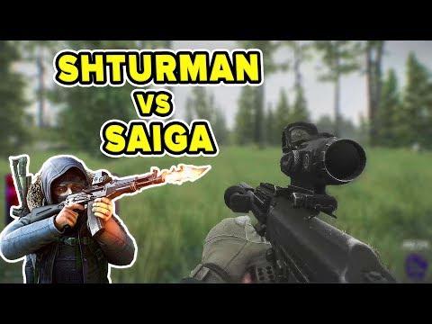 SOLO-KILLING SHTURMAN WITH A SAIGA 12 | Escape From Tarkov | TweaK