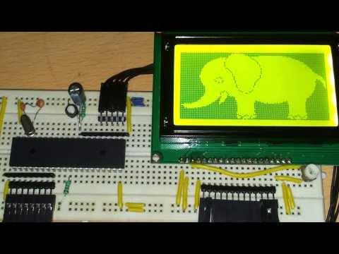 KS0108 Library Mikrocontrollernet