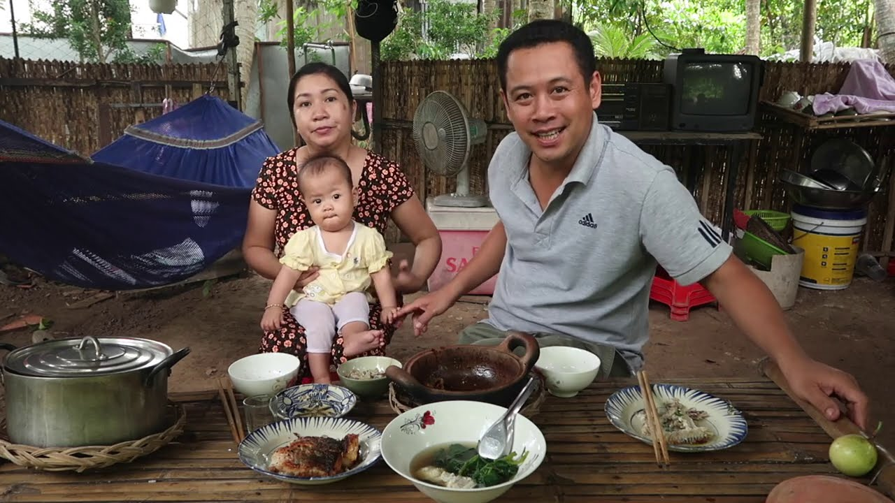 Cá Lóc Làm 3 Món Ăn Cơm #419 | 7 Thuận