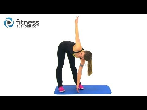 Quick Total Body Warm Up Cardio - Easy Low Impact Cardio Warm Up Workout