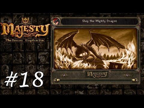 Majesty Gold HD - Playthrough 18 - Slay the Mighty Dragon |