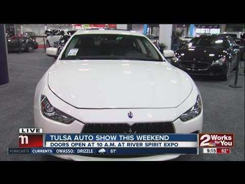Luxury cars at the Tulsa Auto Show 2015