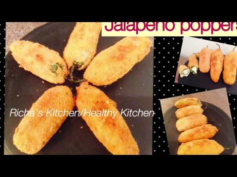 Jalapeno Poppers /Mexican Cuisine/by Richa's Kitchen /healthy Kitchen