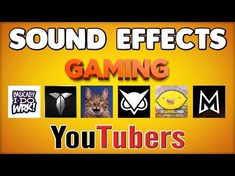 SOUND EFFECTS YOUTUBERS USE - VANOSS, GAMING LEMON, MINI LADD, BASICALLYIDOWRK