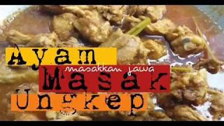 Resepi masakkan. Ayam masak ungkep #belajarmemasak #resepiringkas.