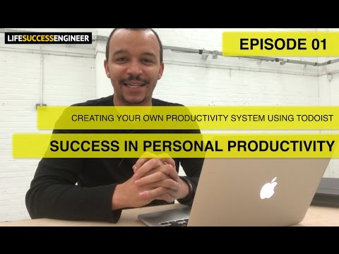 Creating Your Own Personal Productivity System 📆 | Success In Personal Productivity ✅ | Ep 01