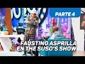 """El """"accidente"""" del Tino - Faustino Asprilla en The Suso's Show - Caracol TV - Parte 4"""