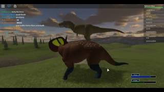 Roblox  Primal Life  T.rex on the server 