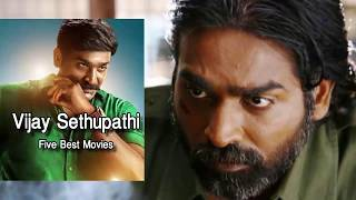 VIJAY SETHUPATHI - BEST 5 MOVIES!