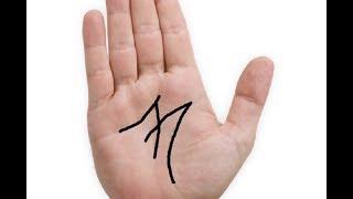 """O que significa ter a letra """" M """" na palma da mão?"""