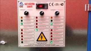 Gazi Water Chiller - Чиллеры с воздушным охлаждением(Gap-Su 225 Cooling capacity : 150 kW Gap-Su 225 - Промышленные водоохладители чиллер 150 кВт www.gazisogutma.com www.gazichiller.ru., 2014-07-06T14:50:15.000Z)