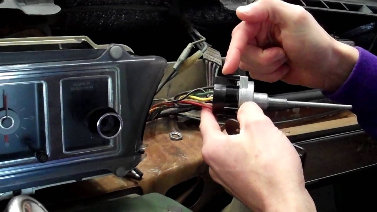1997 Ford Thunderbird Wiring Diagram 2005 Cobalt Ss Radio Replacing A Windshield Wiper Switch - Youtube