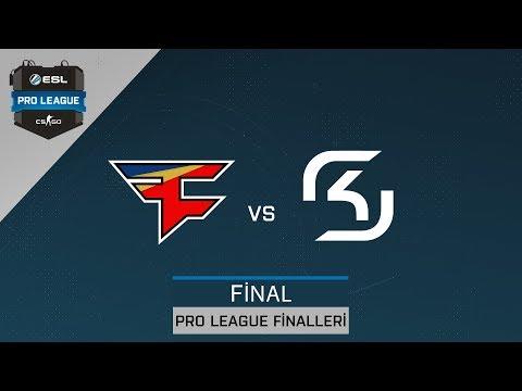 CS:GO - Faze Clan vs. SK Gaming [İnferno] Harita 1 - Final - ESL Pro League Sezon 6 Finalleri