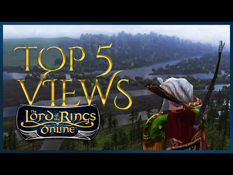 Top 5 Best Views In LotRO [Lord Of The Rings Online]