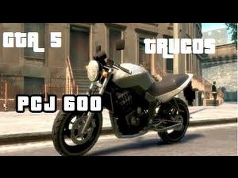 TRUCOS GTA 5 Como Tener Una Pcj 600 Moto Y Como Hacer
