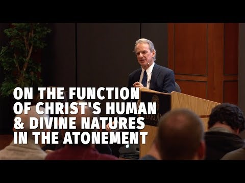 On the Function of Christ's Human & Divine Natures in the Atonement