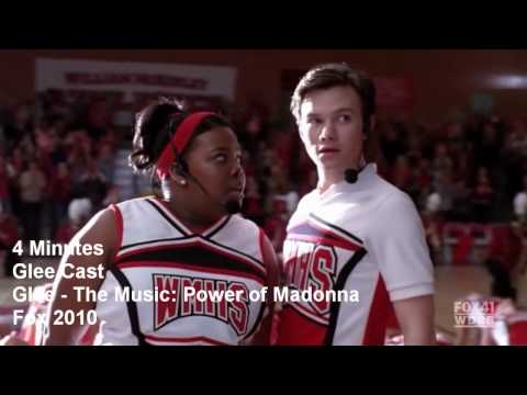 4 Minutes - Glee The Power Of Madonna