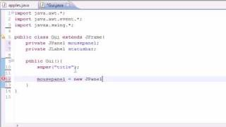 Java Programming Tutorial - 74 - Mouse Events