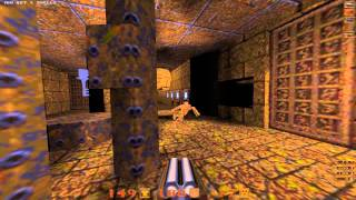Quake Mission Pack: 2 Dissolution of Eternity - 03 Judgement Call - All Secrets - 1080p 60fps