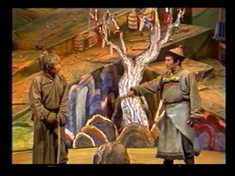 """Спектакль """"Будамшуу"""". Буряад Театр  (1987)"""