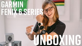 Unboxing the Garmin Fenix 6 Series | Sigma Sports