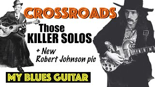 Eric Clapton CROSSROADS Guitar Solos + NEW Robert Johnson Photograph