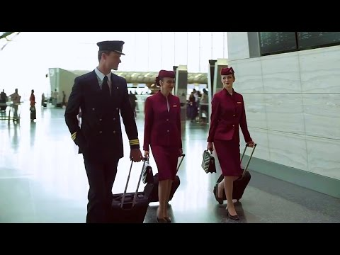 The Cabin Crew Life with Qatar Airways