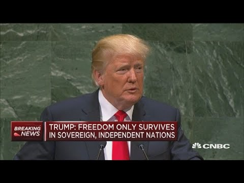 Trump: Sovereign and independent nations only vehicle where freedom has survived