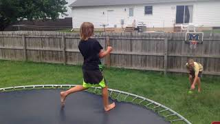 Mini Hoop Trick Shots
