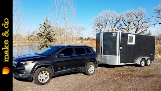 Cargo Trailer to Camper Conversion - Weight, Towing Capacity, & Braking