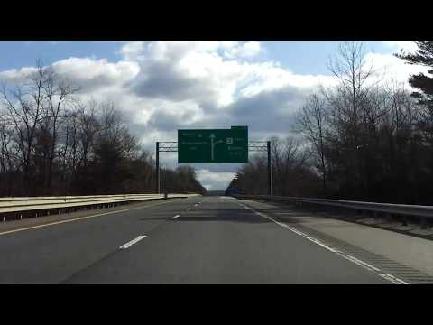Interstate 91 - Massachusetts (Exits 26 to 28) northbound