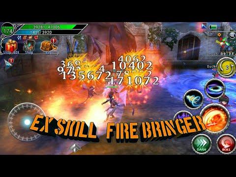 AVABEL ONLINE - Ex Skill Fire Bringer Lv3