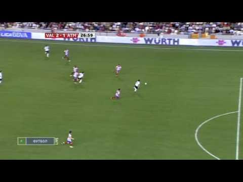 Gol David Villa - Valencia 2 - 2 Atletico (Audio Radio Nou)