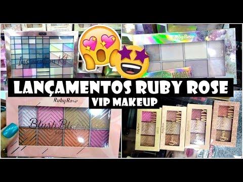 LANÇAMENTOS RUBY ROSE | VIP MAKEUP | 25 DE MARÇO
