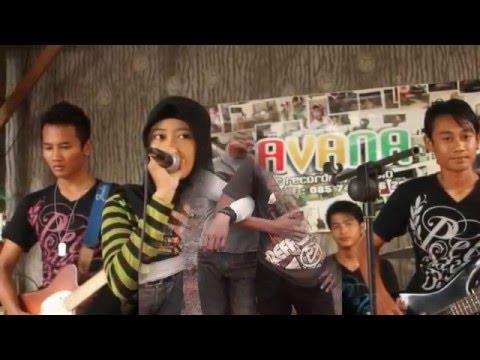 Pinguin Band - Pergi Untuk Kembali with Lyrics(Voc. Rima Lutfiasari)