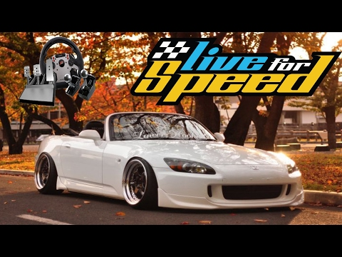 Live For Speed (LFS) #9 - Honda S2000 Modu (Polis Baskını) - W/fanatec
