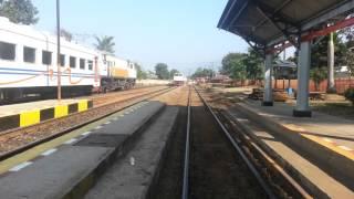 KA LODAYA PAGI Berjalan Langsung Stasiun Cicalengka