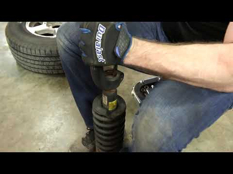 How to Replace Shocks and Struts in a Chevy Trailblazer – 2002-2009