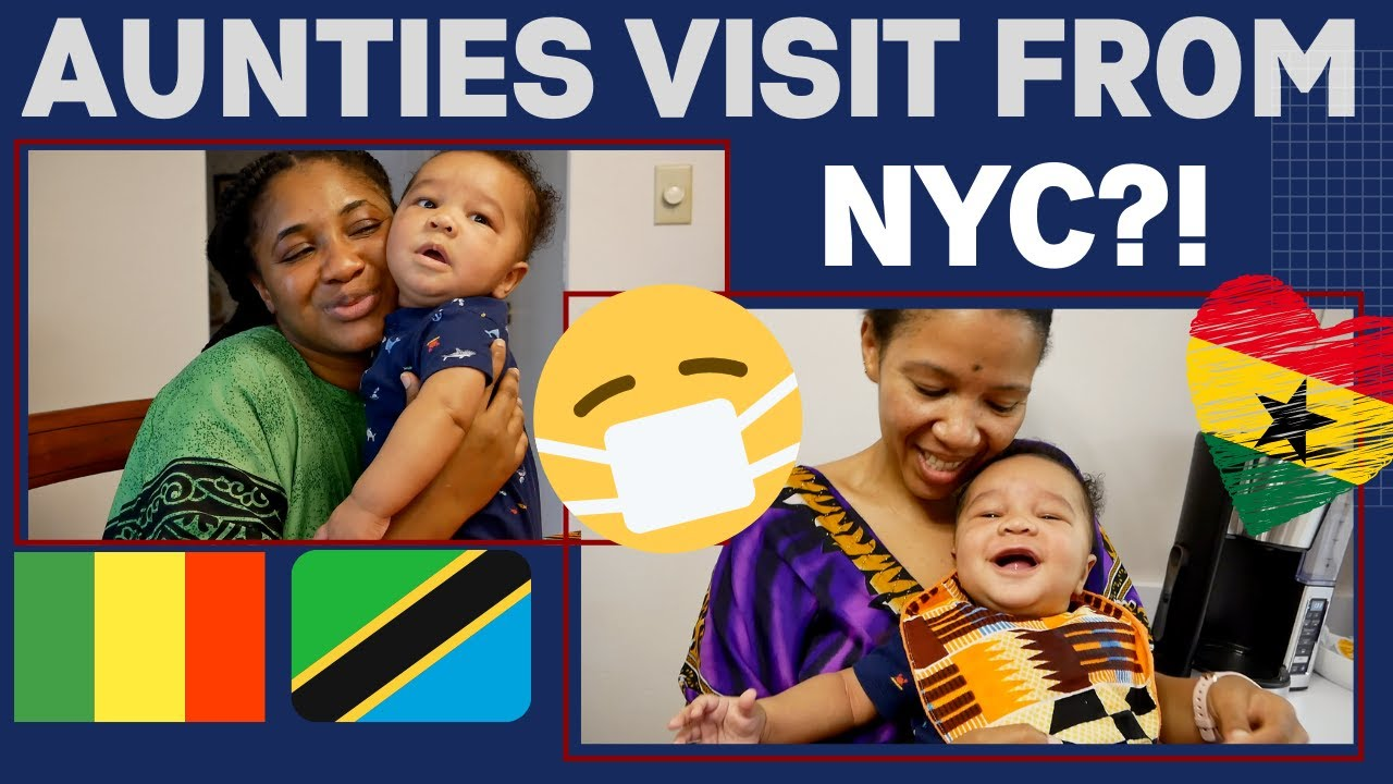 Best Friends Visit Our Newborn for First Time//Covid 19//African Food