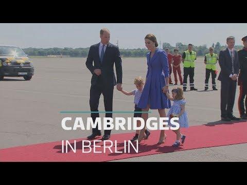 Duke and Duchess of Cambridge visit Berlin