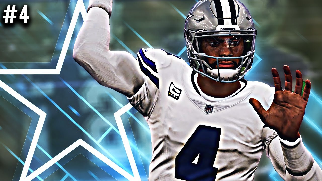 Madden 21 Dallas Cowboys Franchise Paying Dak Prescott Ep 4 Youtube