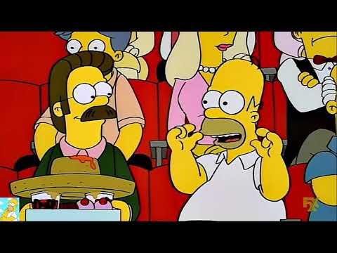 Los Simpson: Yo Quiero Ser Un Nacho Man.
