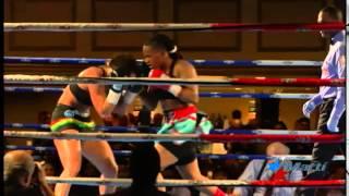 Bi-Campeona mundial de boxeo es activista contra el abuso sexual infantil