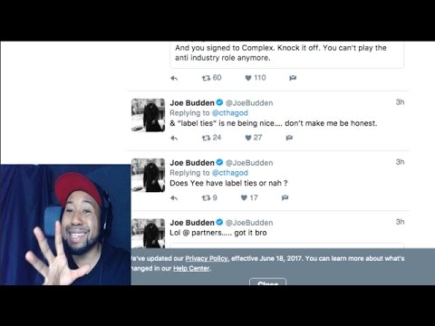 akademiks reacts to charlemagne and joe budden twitter beef youtube