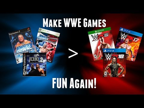 Make WWE Games FUN Again!