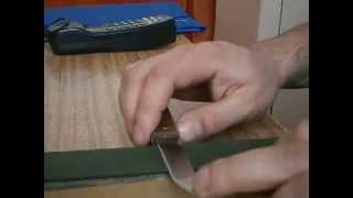 Ручная заточка ножа. Простое выставление угла при ручной заточке  ножа(ВНИМАНИЕ!!! Новые видео будут добавляться на этом канале: https://www.youtube.com/channel/UCOy6mcTw5o5BWG8XX913Xcg., 2013-04-27T20:08:53.000Z)